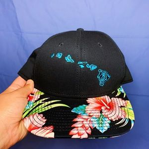 hawaii map hat